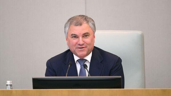 Председатель Государственной Думы РФ Вячеслав Володин - Sputnik Беларусь