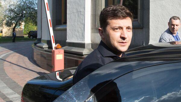 Избранный президент Украины Владимир Зеленский  - Sputnik Беларусь