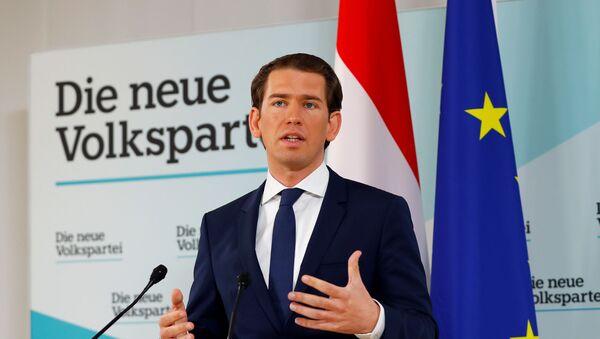 Канцлер Австрии Себастьян Курц  - Sputnik Беларусь
