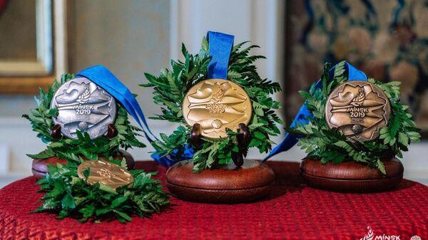 Медали II Европейских игр - Sputnik Беларусь