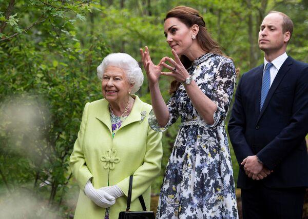 Британская королева Елизавета II - Sputnik Беларусь
