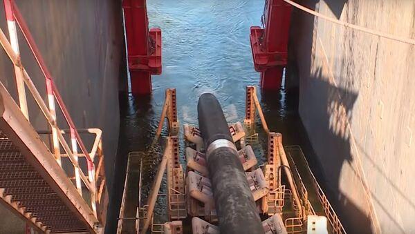 Как продвигается строительство газопровода Северный поток-2 - видео - Sputnik Беларусь