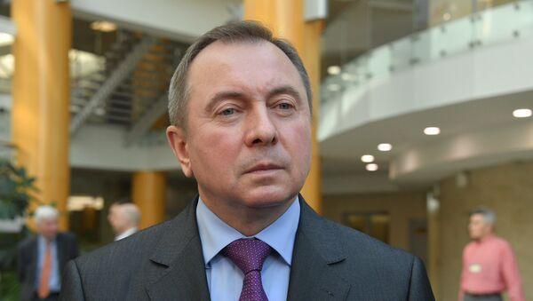 Макей: ратыфікацыя падпісаных з ЕС пагадненняў пройдзе хутка - Sputnik Беларусь