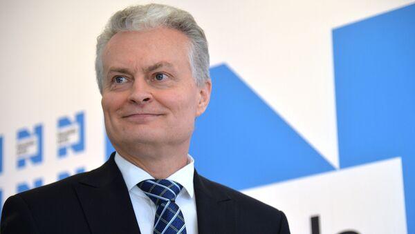 Кандидат в президенты Литвы, экономист Гитанас Науседа - Sputnik Беларусь