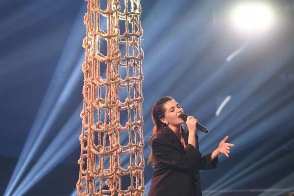 Даша Чернова на сцене финала Ты супер! Суперсезон - Sputnik Беларусь