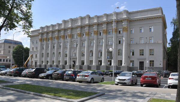 Здание Минсельхозпрода Беларуси - Sputnik Беларусь