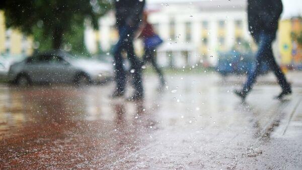 Дождж у горадзе - Sputnik Беларусь