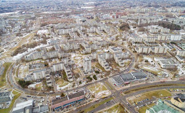 Район Вильнюса Фабиёнишкес - Sputnik Беларусь