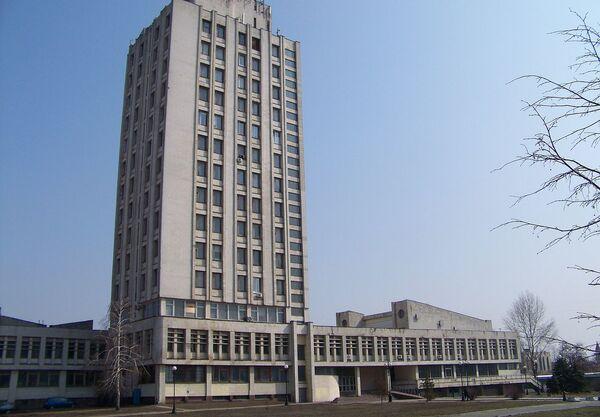Институт гидробиологии на проспекте Героев Сталинграда в Киеве - Sputnik Беларусь