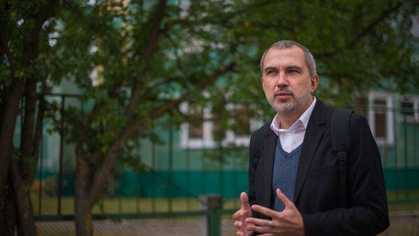Альгерд Бахаревич, белорусский литератор - Sputnik Беларусь