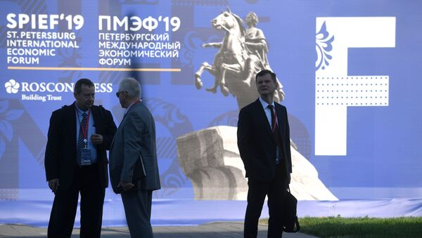 Петербургский международный экономический форум. День первый - Sputnik Беларусь