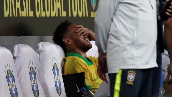 Бразильский форвард Неймар получил травму в матче против Катара - Sputnik Беларусь