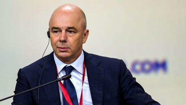 Первый заместитель председателя правительства РФ – министр финансов РФ Антон Силуанов - Sputnik Беларусь
