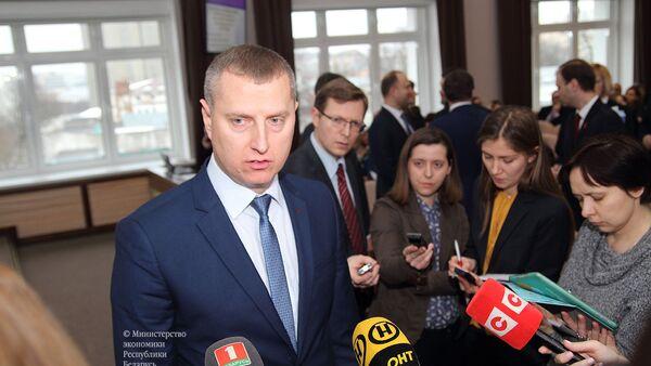 Министр экономики Беларуси Дмитрий Крутой - Sputnik Беларусь