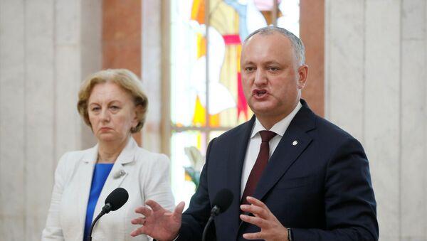 Президент Молдавии Игорь Додон заявил во вторник, что решения Конституционного суда ставят под угрозу национальную безопасность республики - Sputnik Беларусь