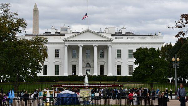 Белый дом в Вашингтоне, официальная резиденция президента США. - Sputnik Беларусь