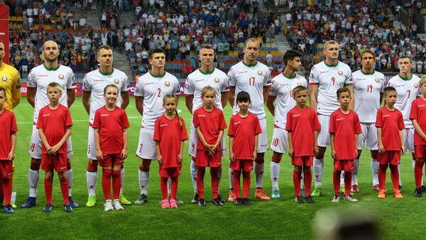 Футболисты сборной Беларуси по футболу - Sputnik Беларусь