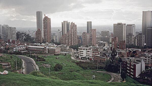 Вид на Боготу, Колумбия - Sputnik Беларусь