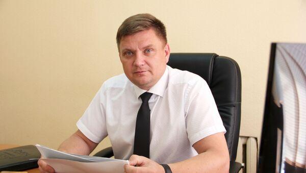 Начальник управления по наркоконтролю и противодействию торговле людьми ГУВД Мингорисполкома Александр Сазонов - Sputnik Беларусь