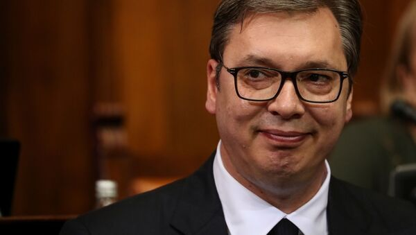 Президент Сербии Александр Вучич - Sputnik Беларусь