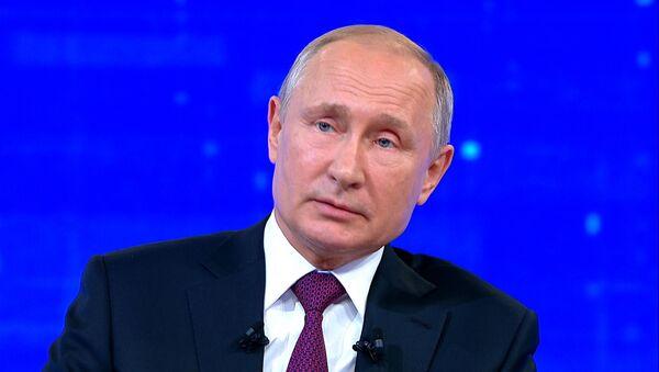 Путин о перспективе белорусско-российских отношений - Sputnik Беларусь
