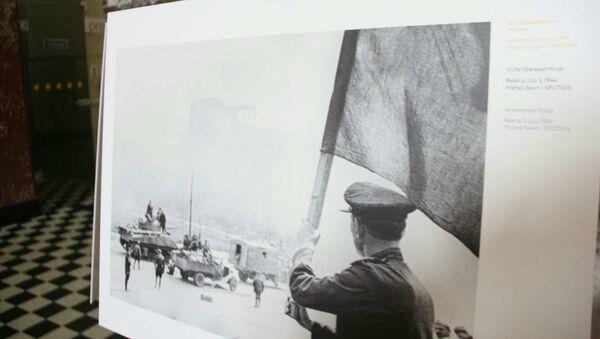 Выстава ваенных фатаграфій на вакзале Брэста - Sputnik Беларусь