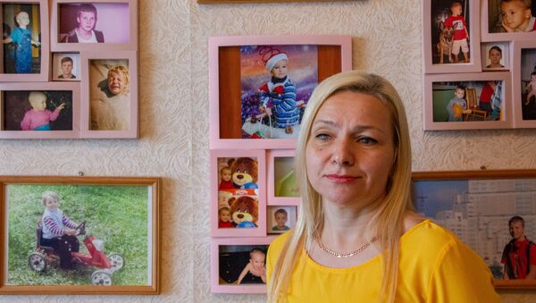 Ольга Полошовец полностью утратила зрение после рождения второго ребенка - Sputnik Беларусь