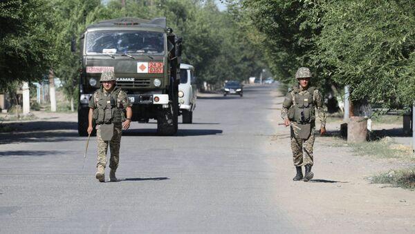 Город Арысь эвакуирован и оцеплен военными - Sputnik Беларусь