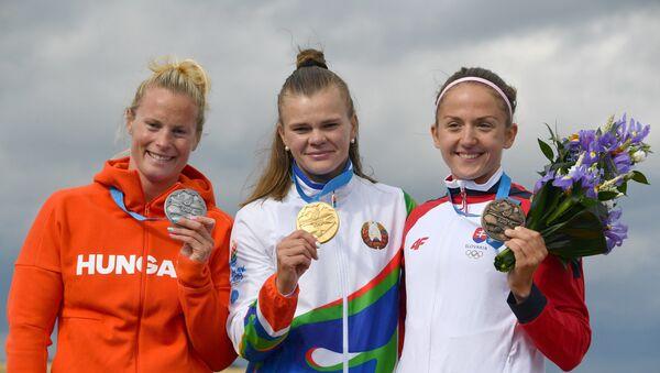 Марына Літвінчук выйграла золата ў заплыве на 5000 метраў на II Еўрапейскіх гульнях - Sputnik Беларусь
