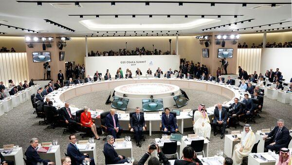 Саммит G20 официально стартовал в японской Осаке - Sputnik Беларусь