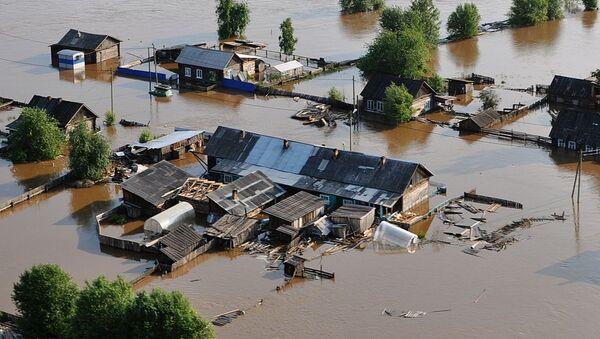 Последствия паводка в Иркутске - Sputnik Беларусь