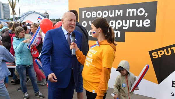 Посол России в Беларуси Дмитрий Мезенцев - Sputnik Беларусь