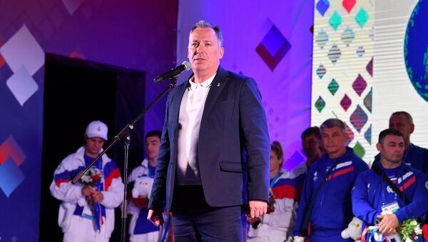 Президент ОКР Станислав Поздняков - Sputnik Беларусь