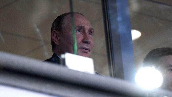 Владимир Путин на Минск-Арене - Sputnik Беларусь