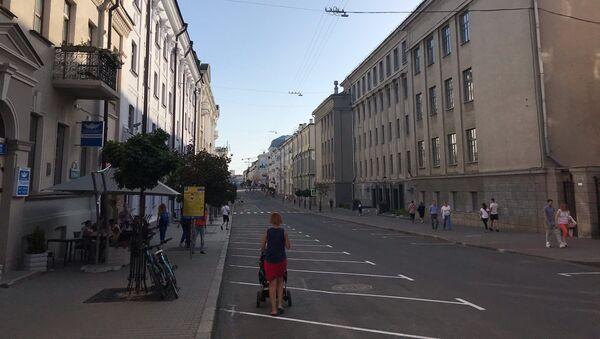 Улица Карла Маркса в Минске - Sputnik Беларусь