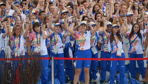 Волонтеры вторых Европейских игр - Sputnik Беларусь
