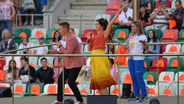 Денис Курьян на стадионе Динамо - Sputnik Беларусь