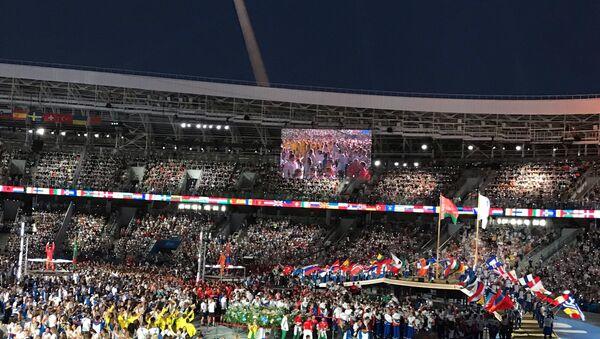 Парад спортсменов - Sputnik Беларусь