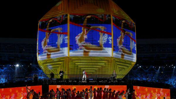 На сцене закрытия ЕИ-2019 выступает Iowa - Sputnik Беларусь