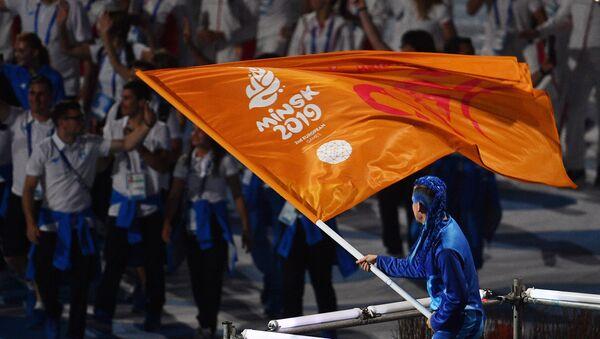 Церемония закрытия II Европейских игр в Минске - Sputnik Беларусь
