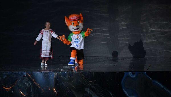 Лесик и девочка - Sputnik Беларусь