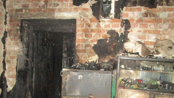 В Кобрине неосторожность при курении привела к пожару в жилом доме - Sputnik Беларусь