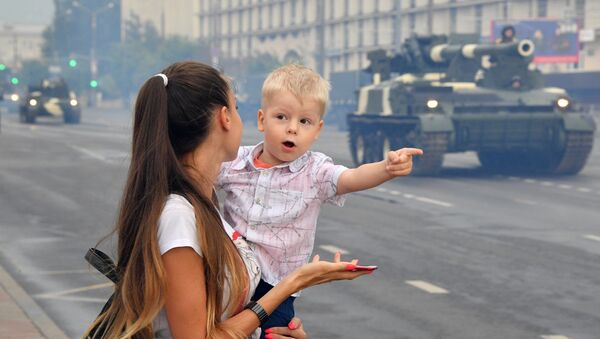 Репетиция парада ко Дню Независимости - Sputnik Беларусь