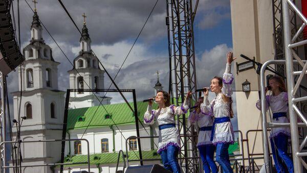 Концерт у Ратуши в День Независимости - Sputnik Беларусь