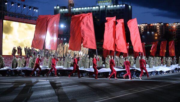 Парад в День независимости - Sputnik Беларусь