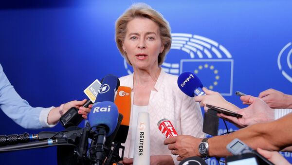 Кандидат на должность главы Еврокомиссии Урсула фон дер Ляйен - Sputnik Беларусь