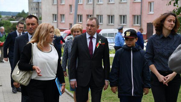 Уладзімір Макей разам з сынам Арцёмам, архіўнае фота - Sputnik Беларусь