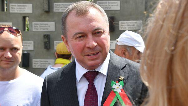Министр иностранных дел Владимир Макей в Новогрудке - Sputnik Беларусь