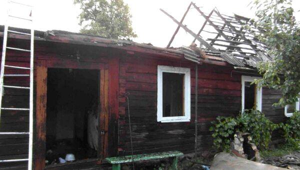 В Гродненском районе спасатели ликвидировали пожар, произошедший во время грозы - Sputnik Беларусь