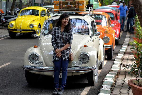Много десятков лет Всемирный день Жука с удовольствием отмечают в Бангалоре, Индия, 22 июня.  - Sputnik Беларусь